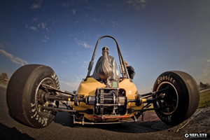 The University of Quebec's Formula SAE using load cell conditioner to monitor the tyres reactions